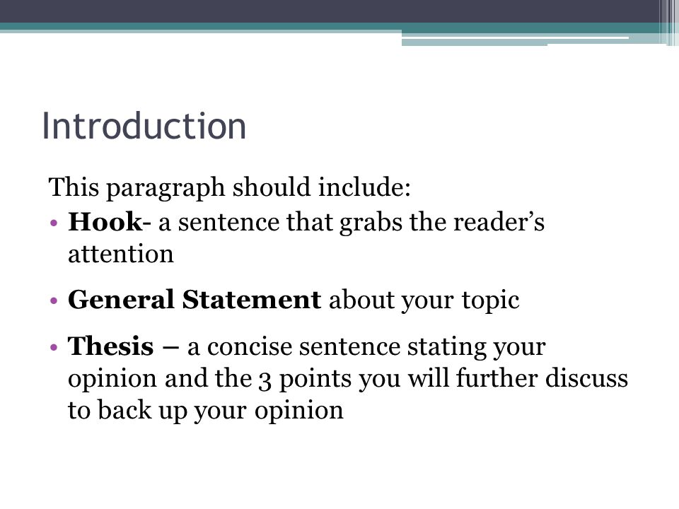 How To Write An Introduction For A Dissertation