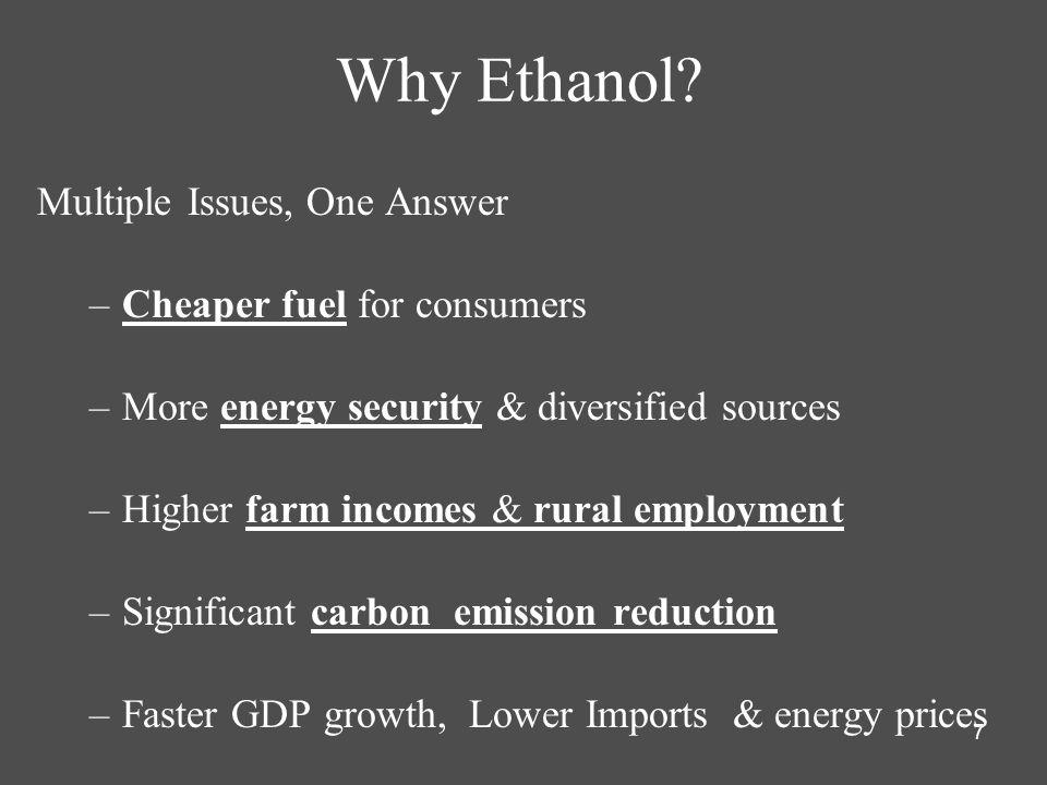7 Why Ethanol.