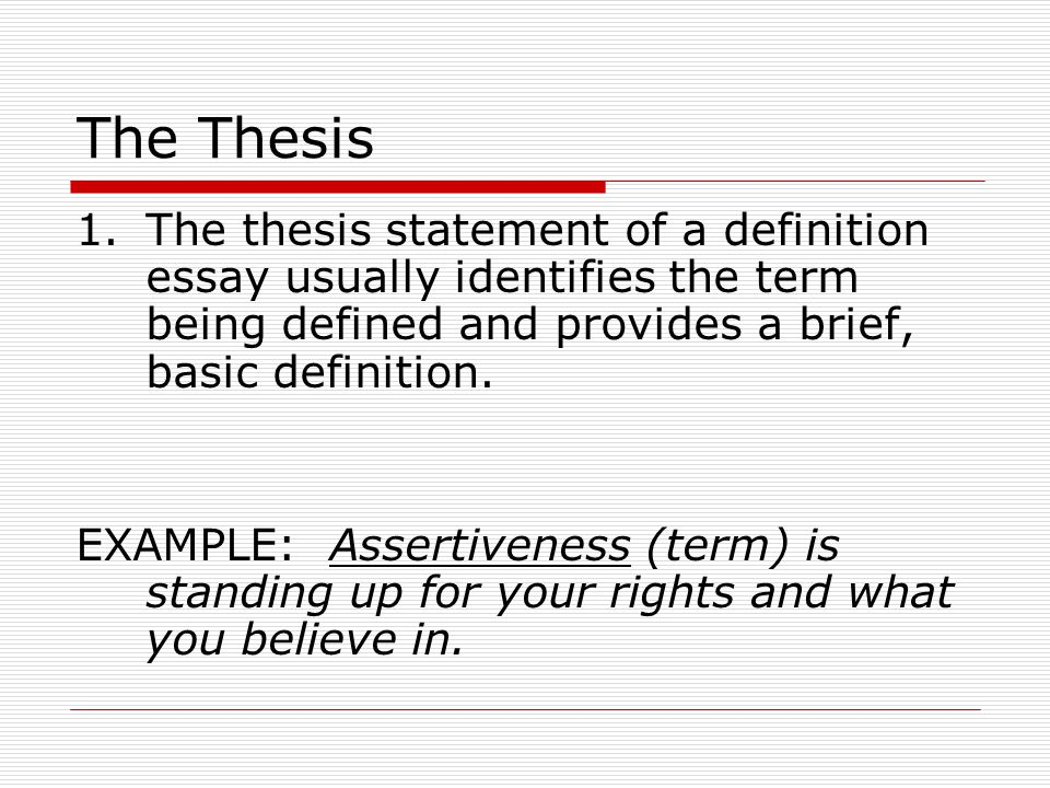 Theses Definition FAMU Online What Is The Purpose Of A Thesis Statement In  An Theses Definition