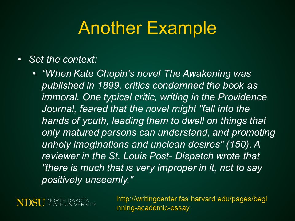 an analysis of the awakening as a novel written in 1899 by kate chopin Kate chopin' s novel the awakening  gender and literary valorization: the awakening of a canonical novel eighteen dissertations were written on chopin.