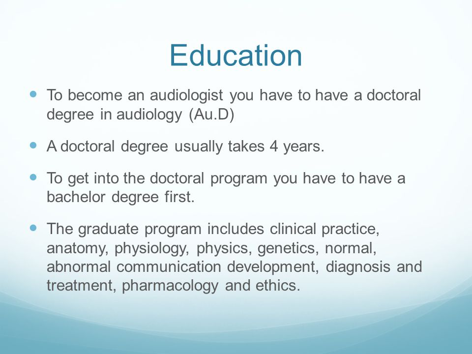 Audiologist Speech Pathologist By Bianca Rizzo Ppt Download
