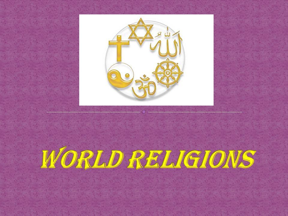 World Religions The Largest Main World Religions In Order Are - World's largest religions in order