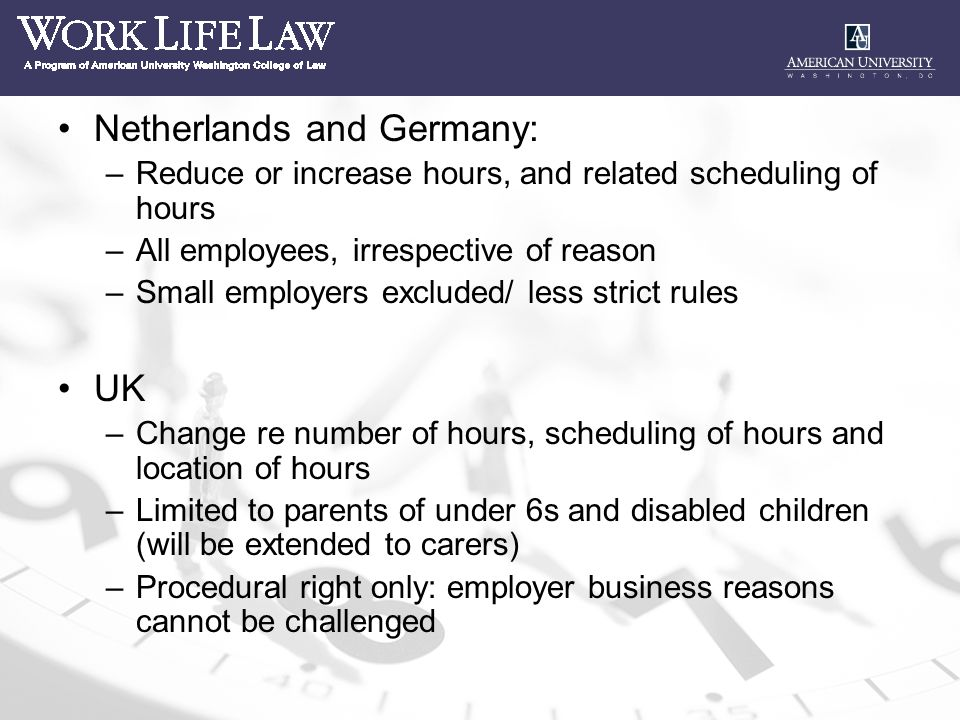Choice and flexibility over working hours new statutory 2 netherlands sciox Image collections