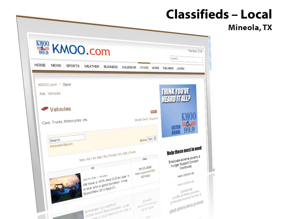 Classifieds – Local Mineola, TX