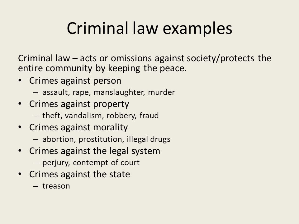 criminal law omissions