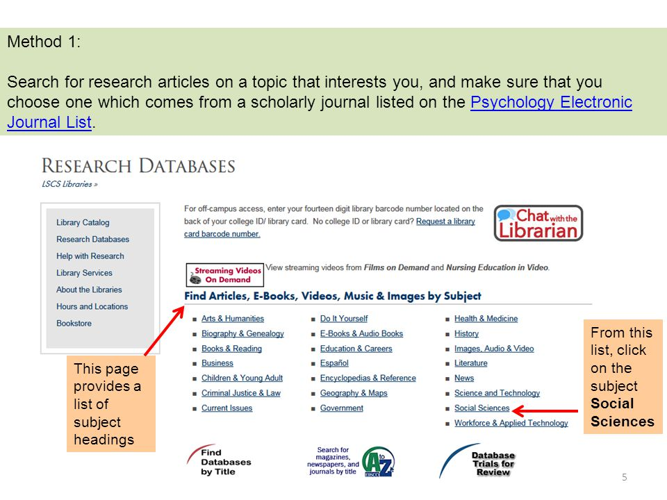 Psychology: Which research would you choose?