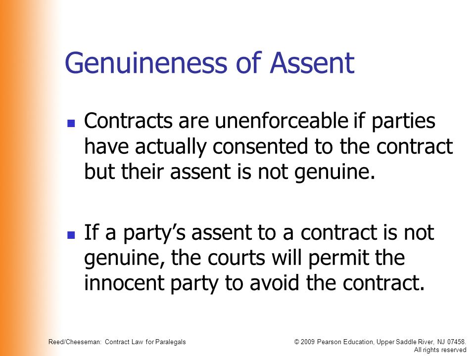 consensus contract and innocent party What are the options for the innocent party when the contract is broken can they walk away from the deal, when and how philip sissons, falcon chambers.