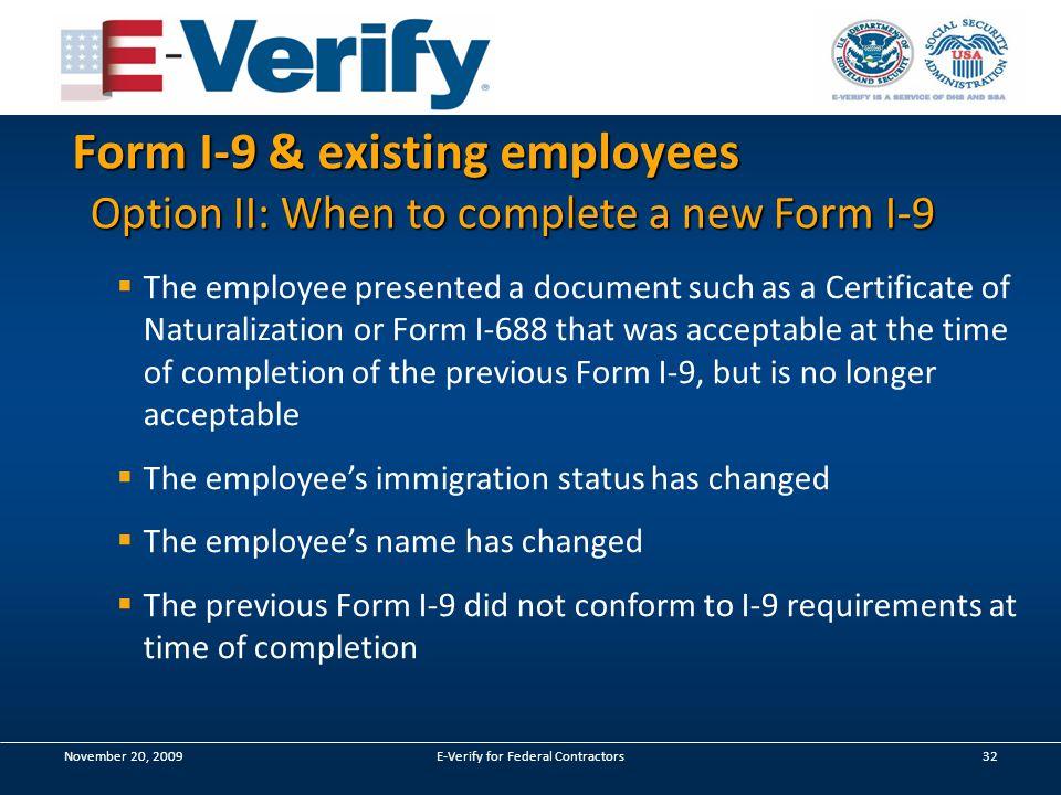 For Federal Contractors. Agenda Section I: E-Verify & FAR - The ...