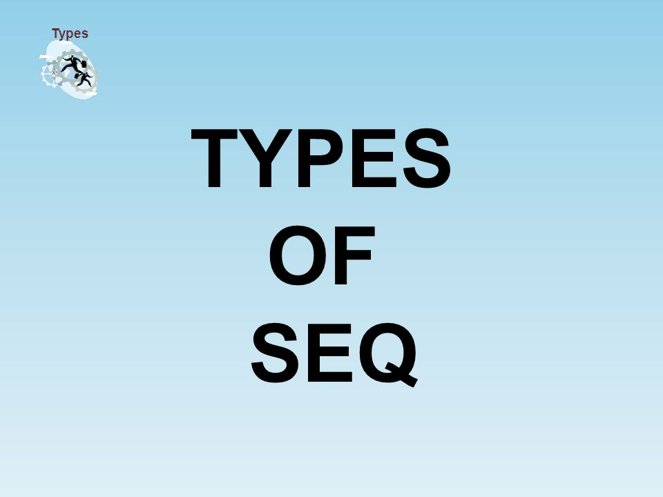TYPES OF SEQ Types