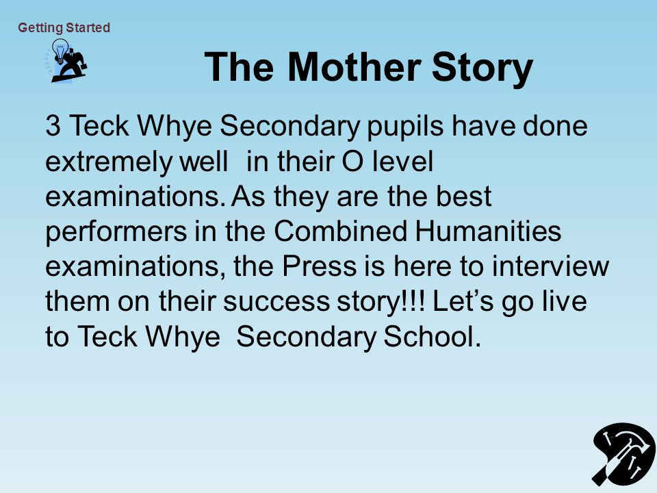 The Mother Story 3 Teck Whye Secondary pupils have done extremely well in their O level examinations.