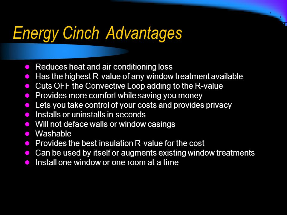 delightful highest r value windows #3: Lovely Highest R Value Windows #7: 12 Energy Cinch Advantages Reduces Heat  And Air Conditioning Loss Has The Highest R-value Of Any Window .