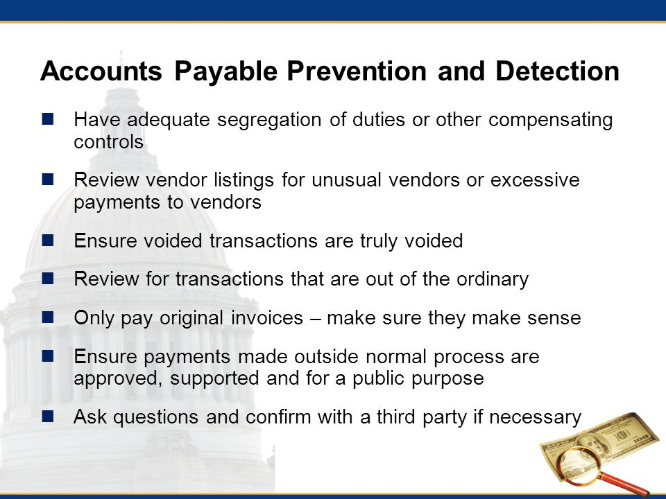 accounts payable duties community college budget accounting and – Accounts Payable Job Description