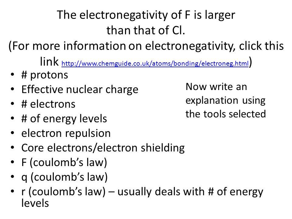 Periodic trends atomic radius ionic radius electronegativity 21 the electronegativity urtaz Images