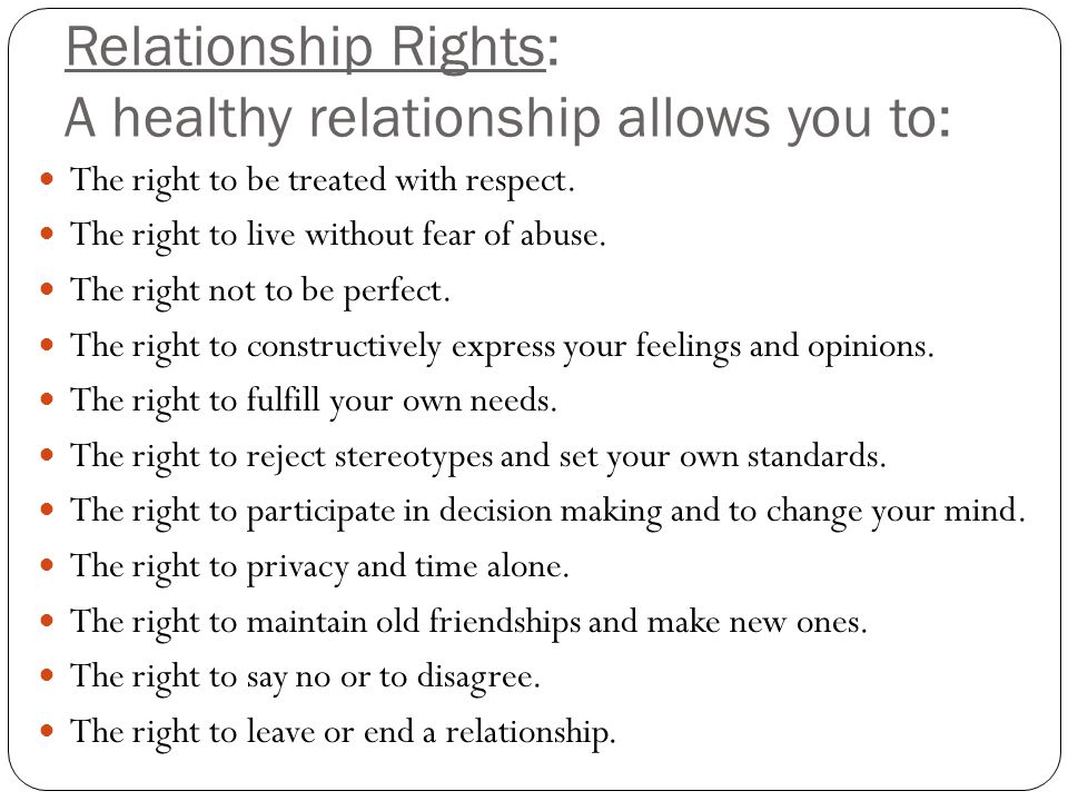Opinions When a the define is relationship? to appropriate time