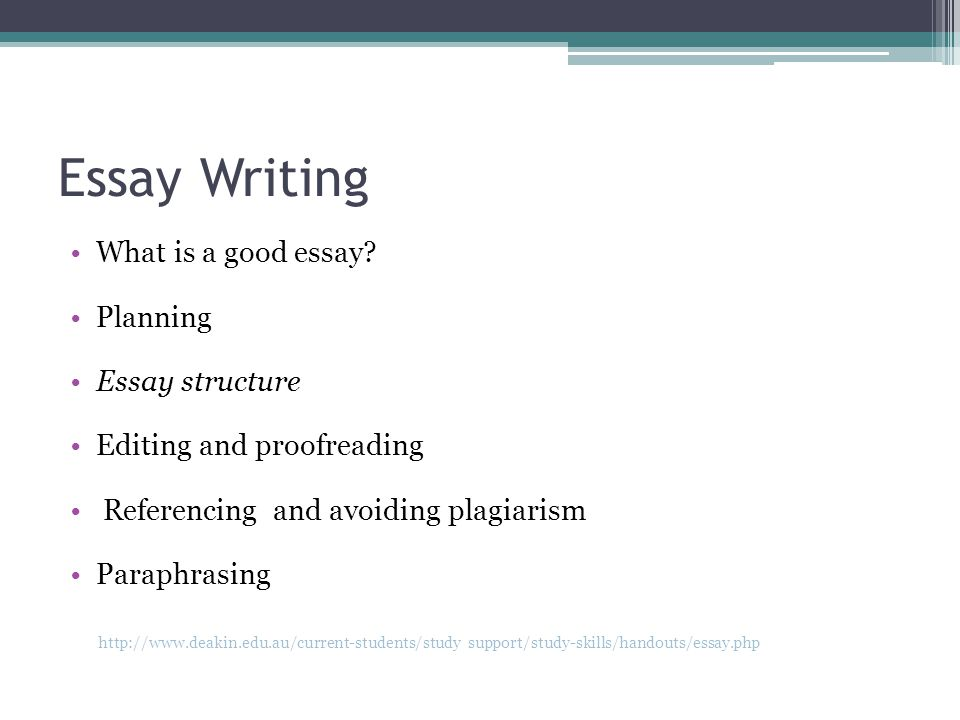Essay Writing What is a good essay.