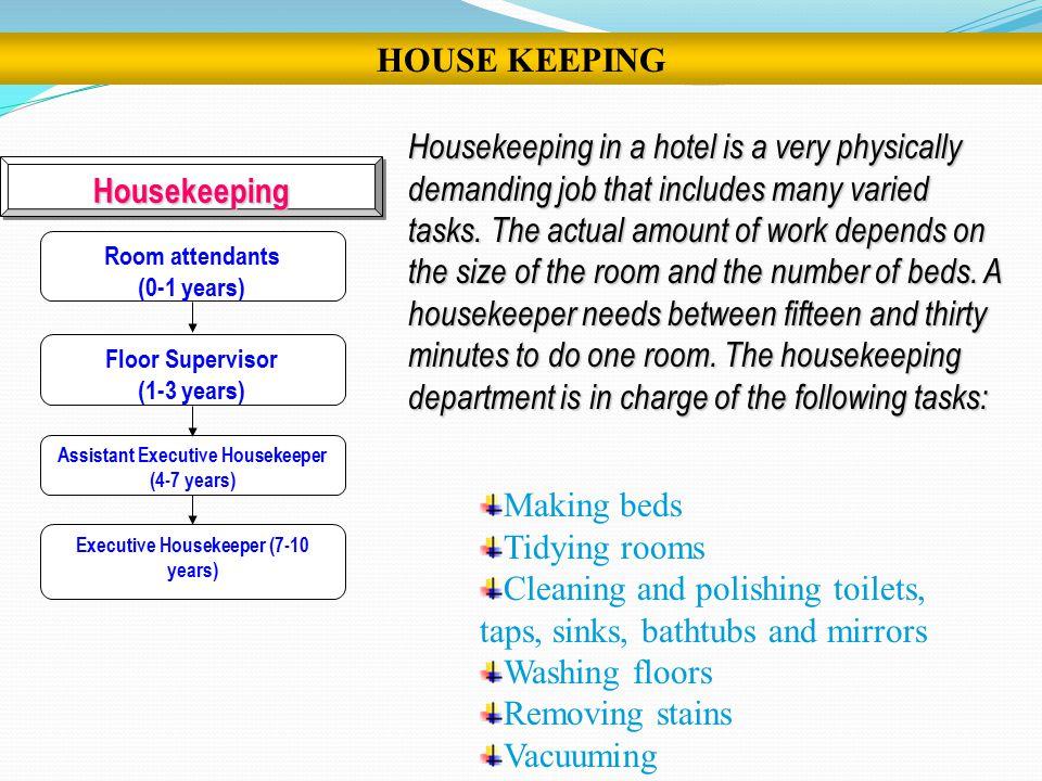 housekeeper career
