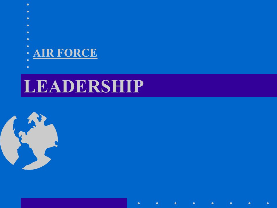 LEADERSHIP AIR FORCE