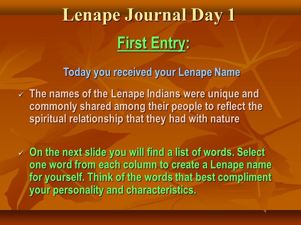 Lenni lenape native americans by mrs gaspar ppt download 14 lenape publicscrutiny Image collections