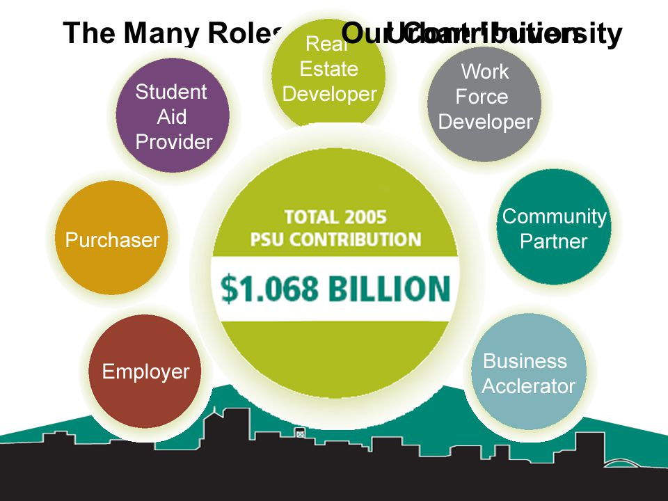 The Many Roles of the Urban UniversityOur Contribution