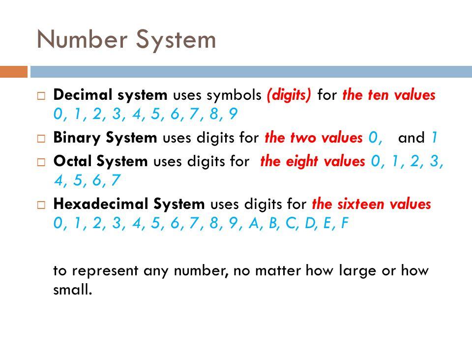 3 Number System  Decimal ...