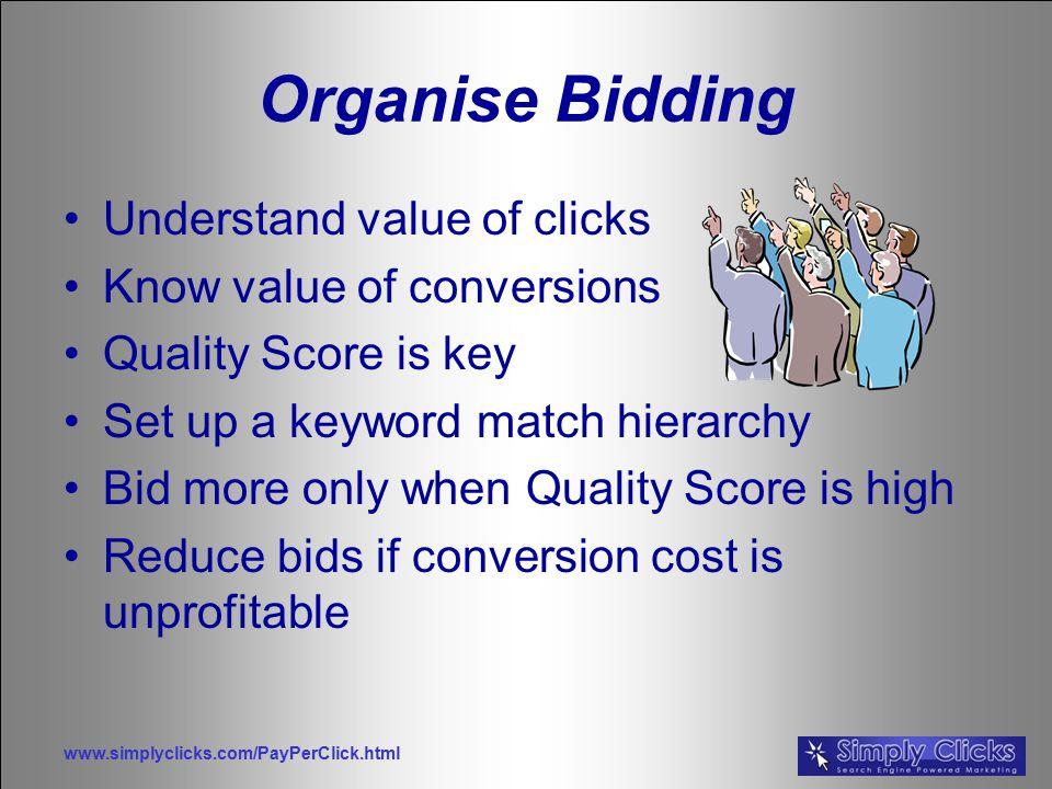bid quality score