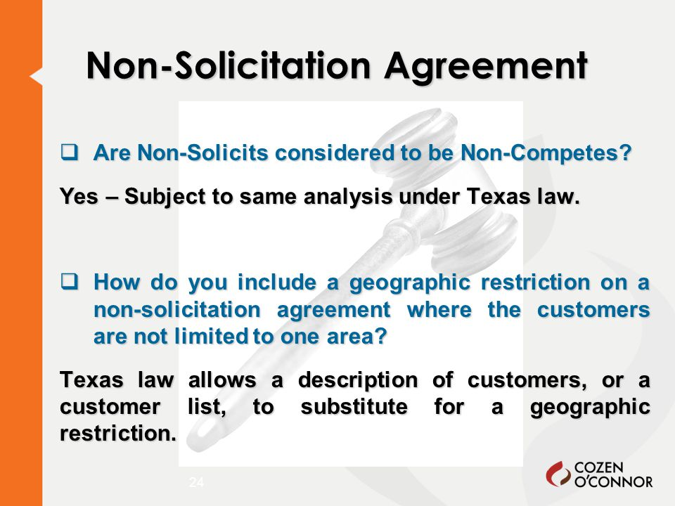 Enforcing non competes and protecting trade secrets by charles h 24 non solicitation agreement platinumwayz