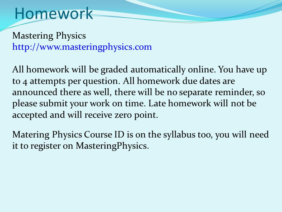 Physics Homework Solutions FAQ