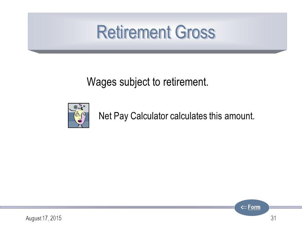 Net Pay Calculator