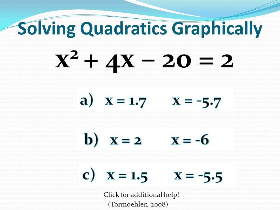 Integrated Math III Essential Question What different methods can ...