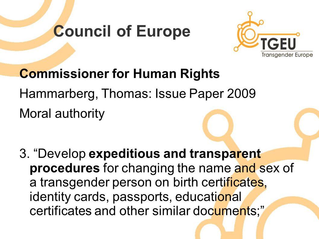 Gender recognition change of name and gender marker blaw alecs 15 council xflitez Choice Image