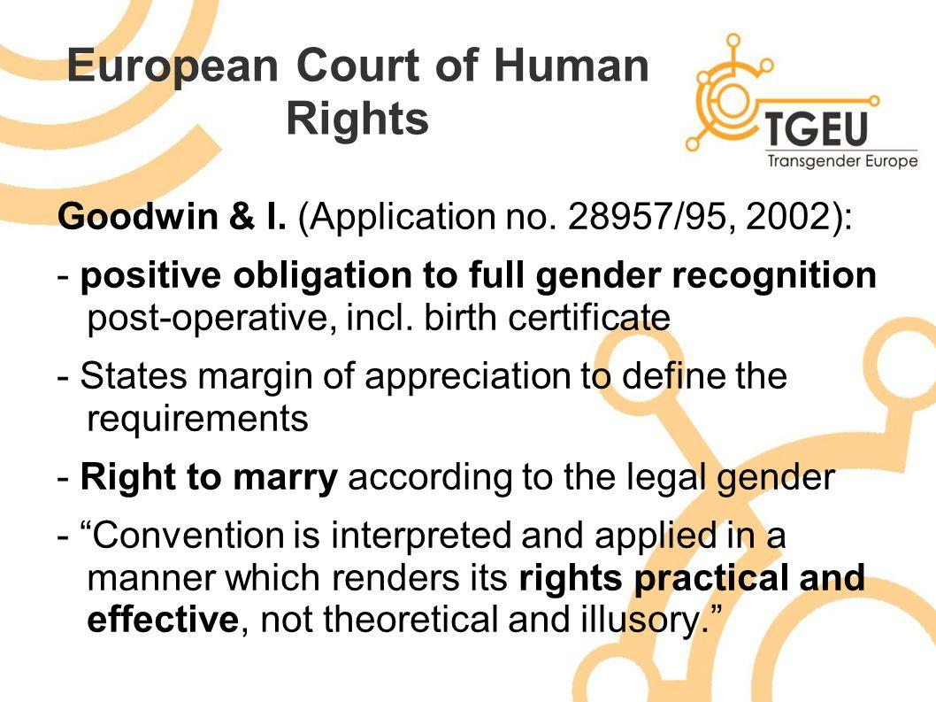 Gender recognition change of name and gender marker blaw alecs 6 european xflitez Choice Image