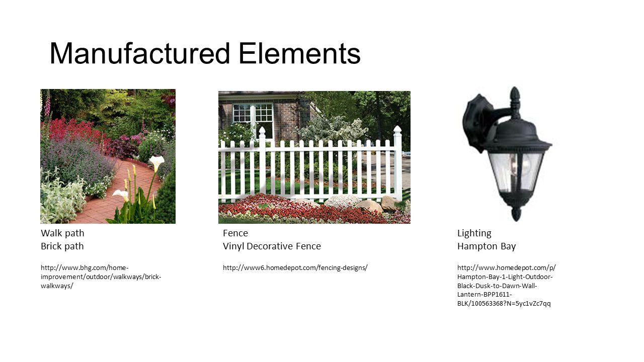 Natural and Manufactured Landscape Elements Fatima Torres ...