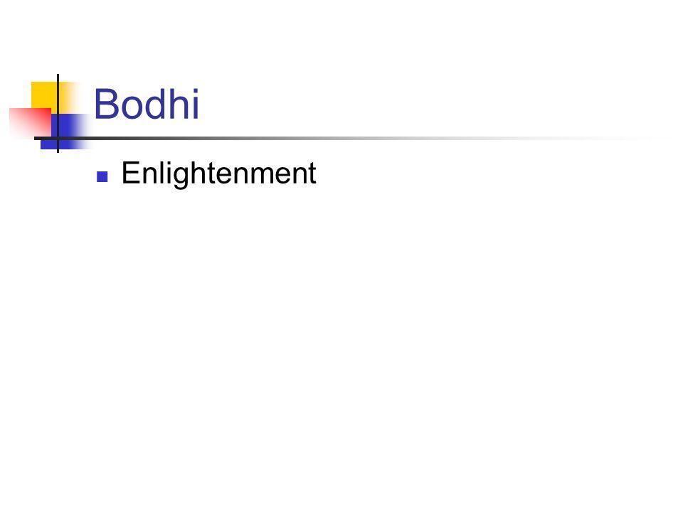 Bodhi Enlightenment