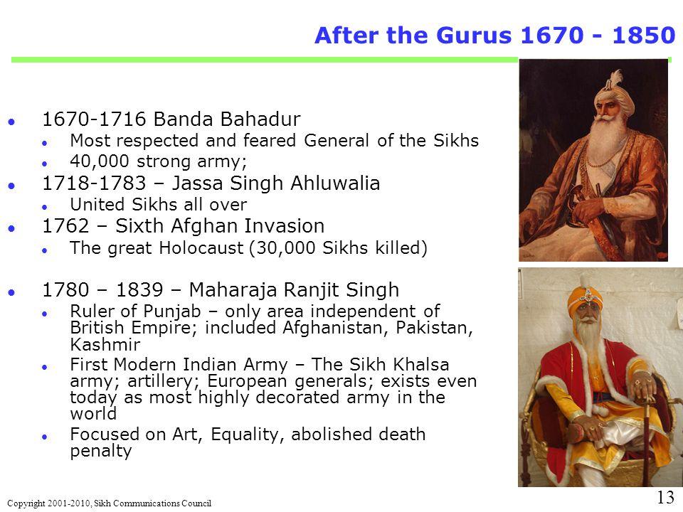 military system of maharaja ranjit singh