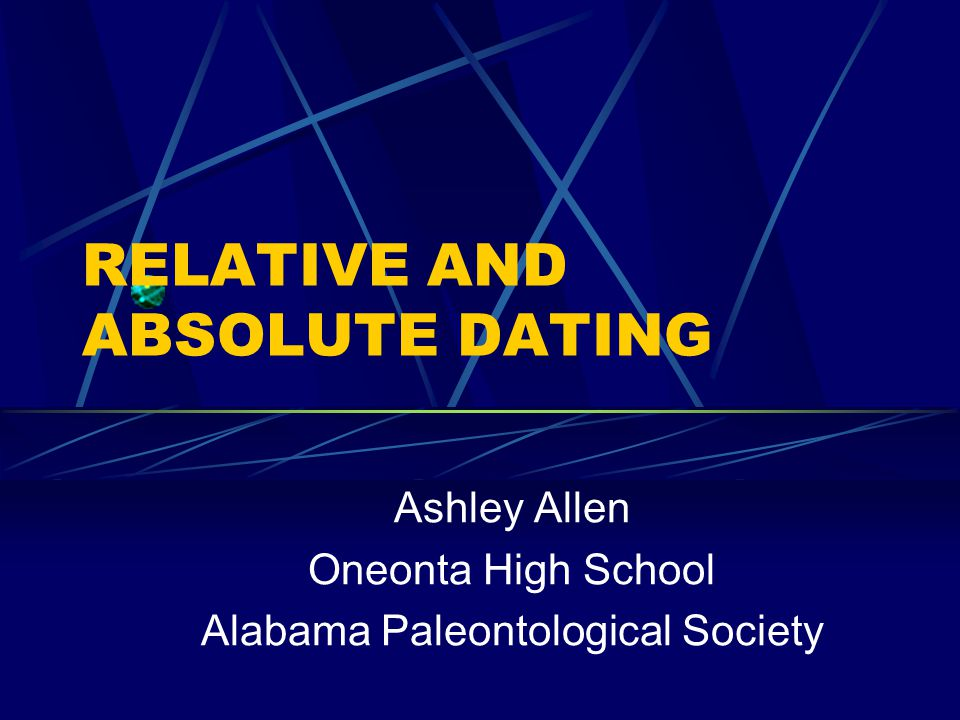 Absolute dating techniques definition