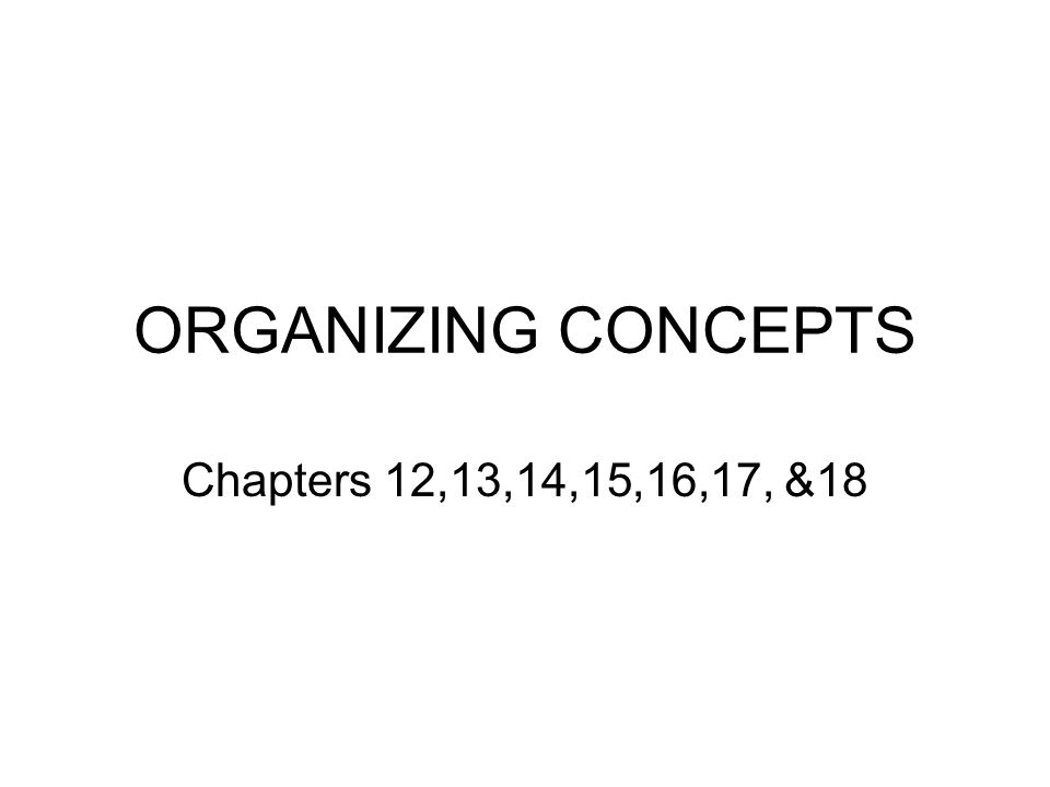 CHAPTER 12 Organizing is based on two principles: Authority Span of management/span of control/ span of supervision