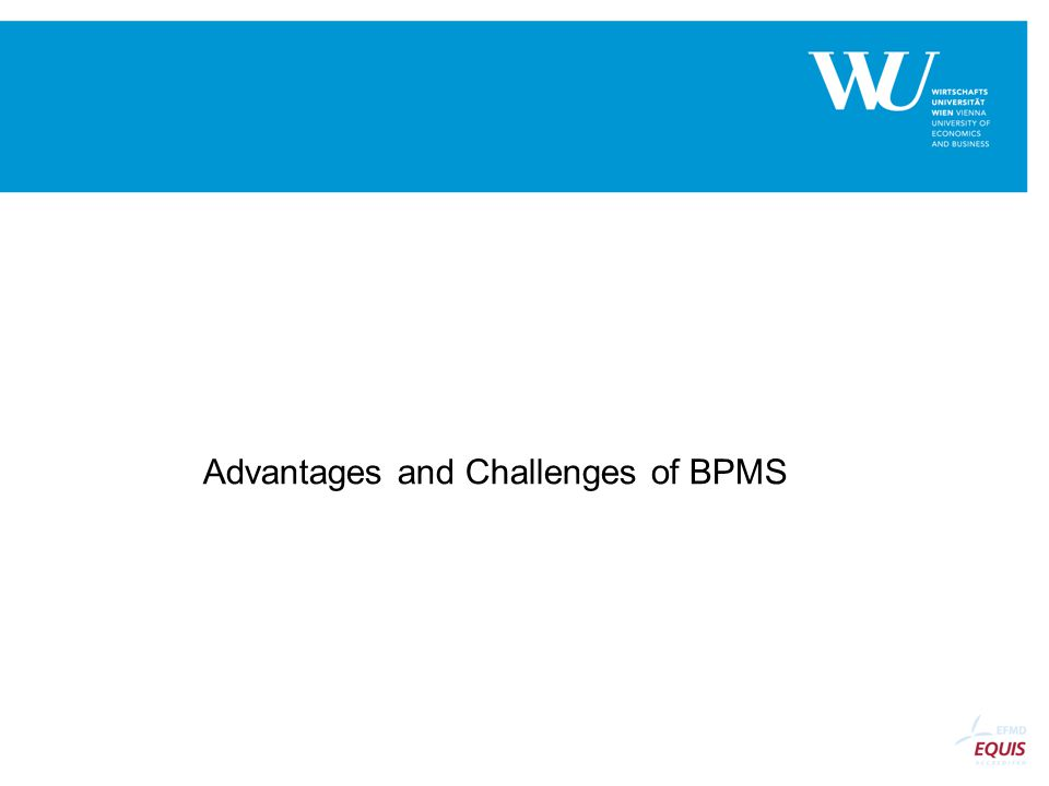 Advantages and Challenges of BPMS
