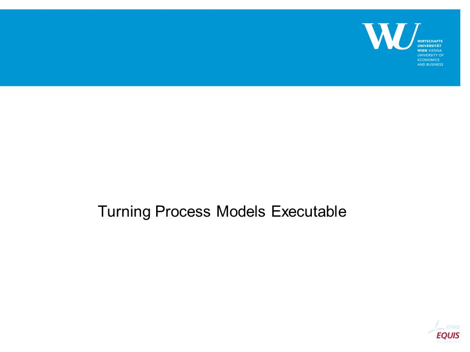 Turning Process Models Executable