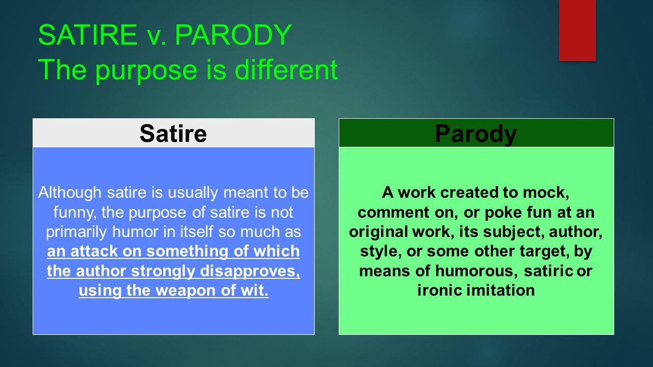 satire examples
