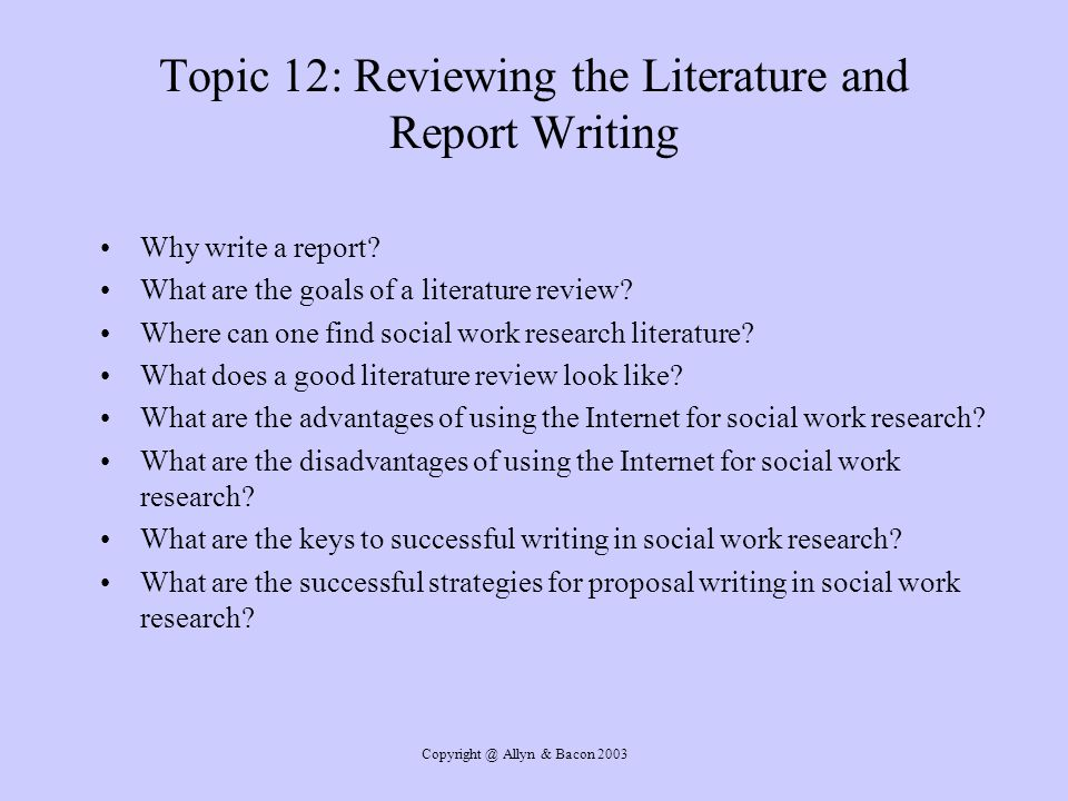 research proposals on social work topics