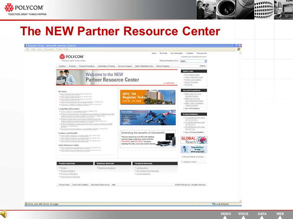The NEW Partner Resource Center