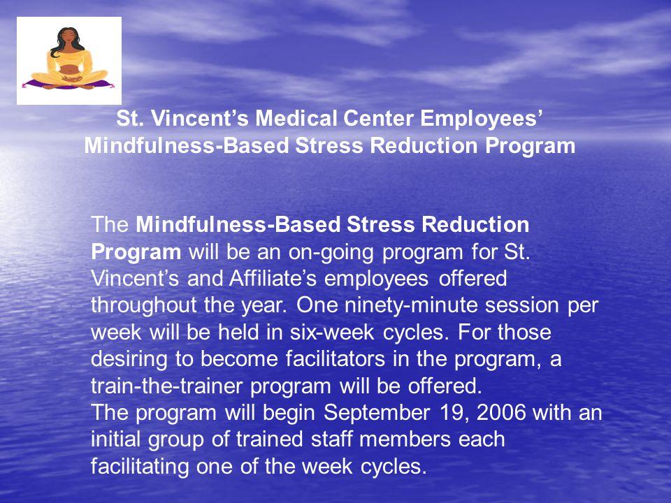 st vincent stress center