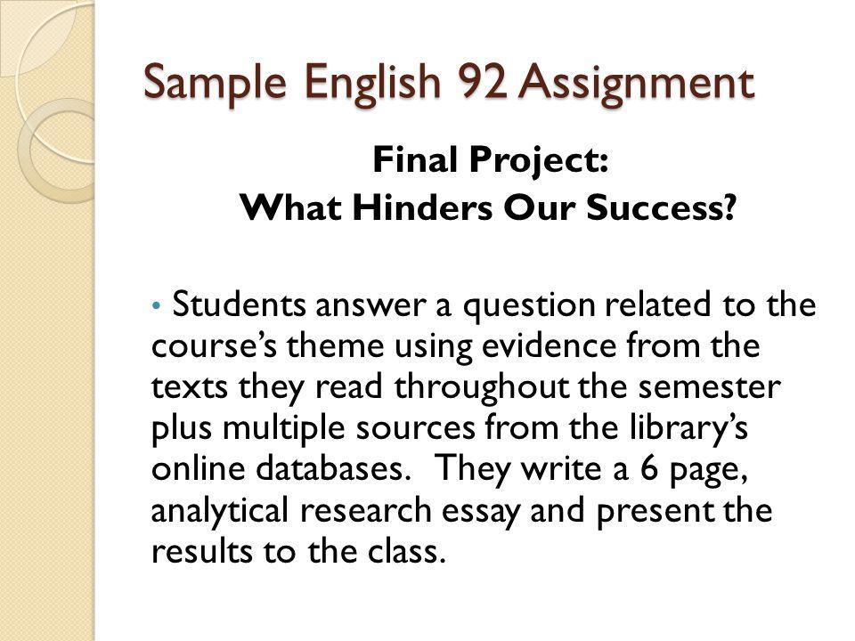 Write my o level english essay questions