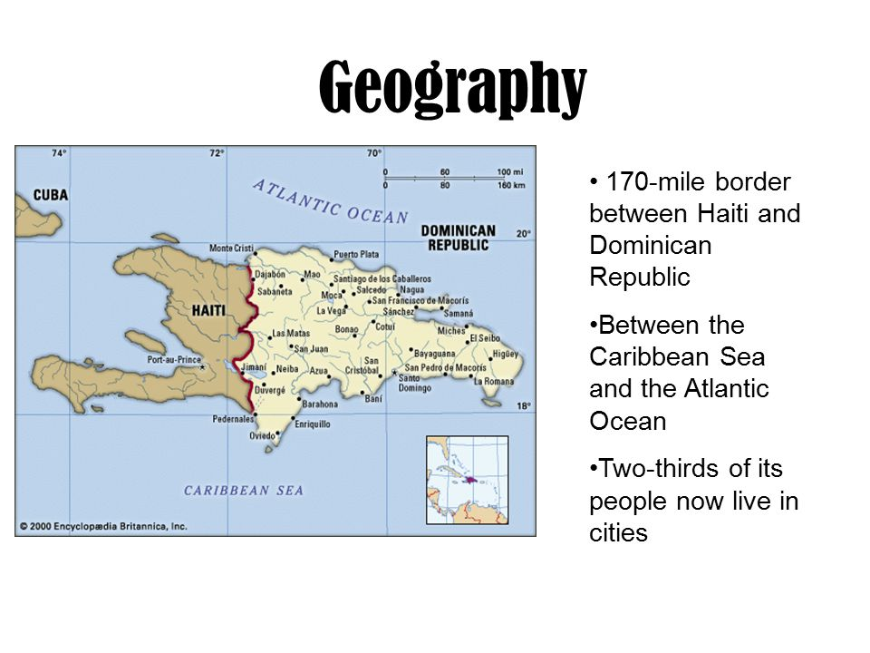Dominican republic geography