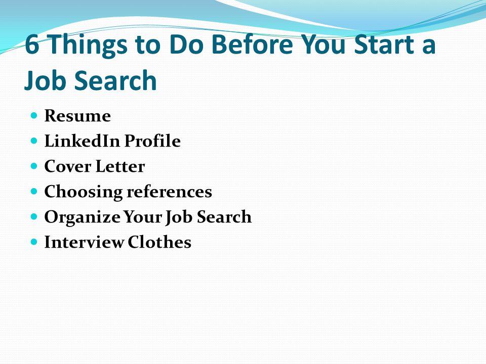 choosing job references
