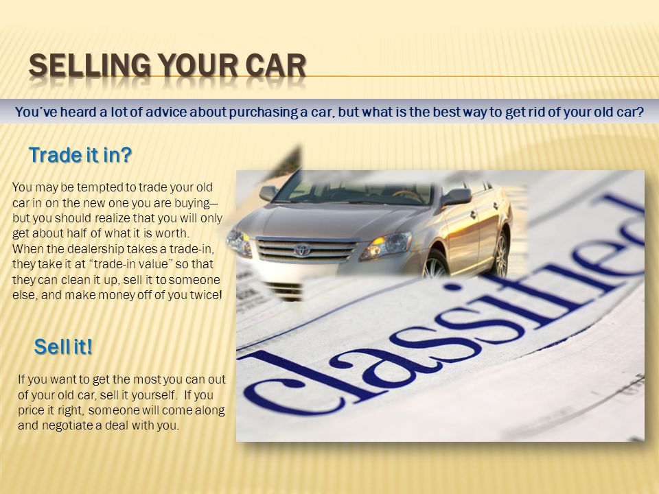 Buying a new or used car What you should know Research before you ...
