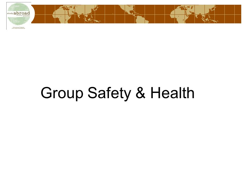 Group Safety & Health