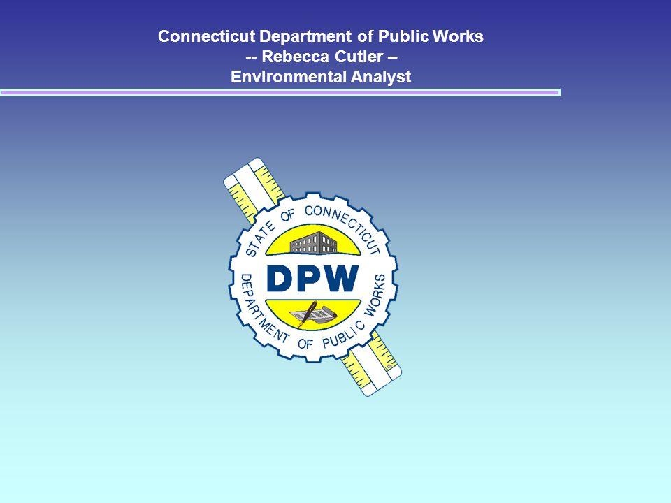 Connecticut Department of Public Works Rebecca Cutler