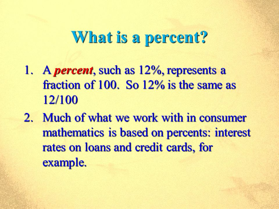 Thinking Mathematically Chapter 8 Consumer Math. Thinking ...