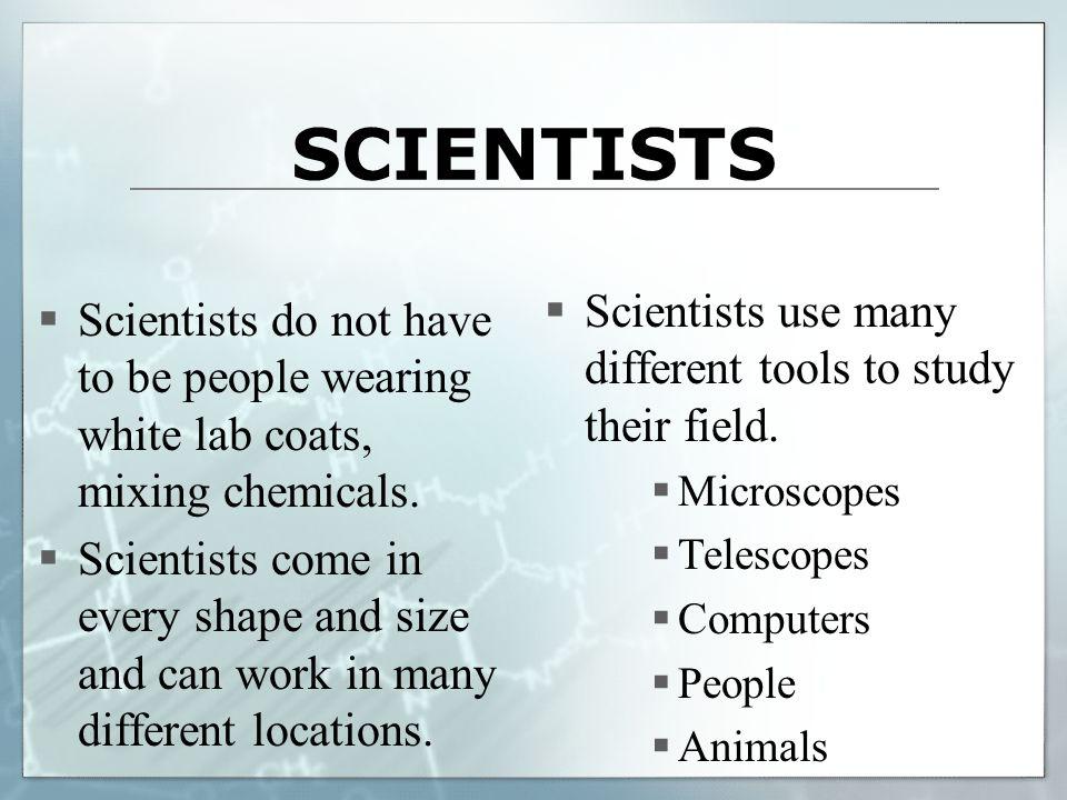 Not All Scientists Wear White Coats - Coat Nj